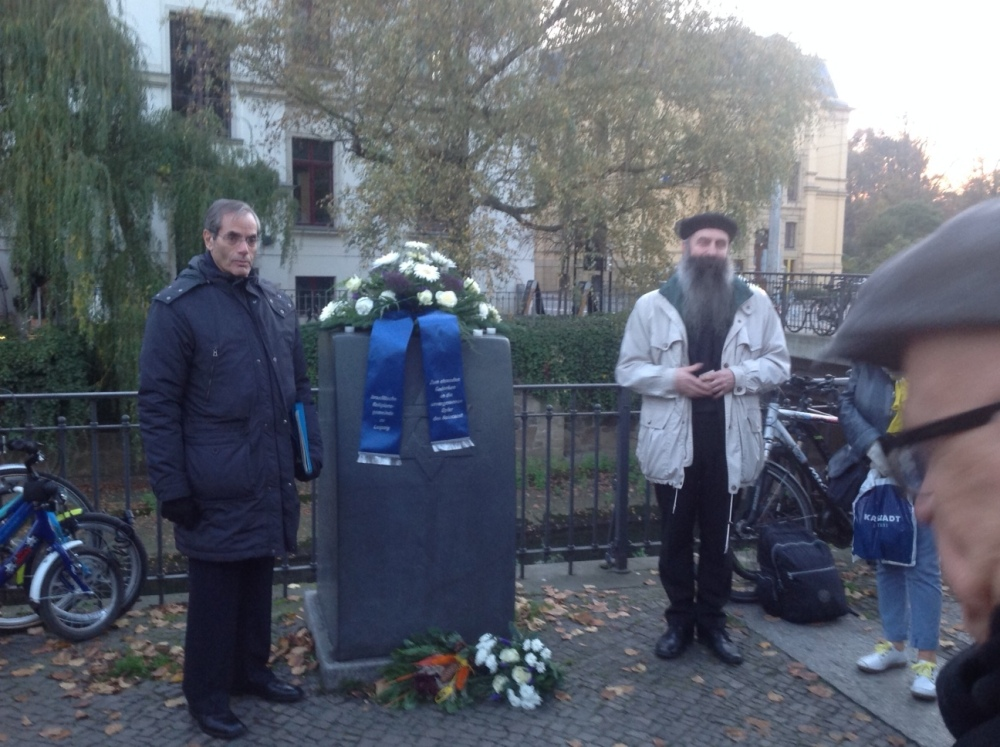 A Letter to the Memory of My Father as I Stand in the Leipzig Zoo on Kristallnacht 2014