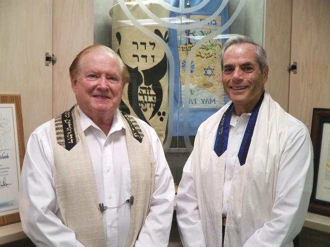 Cantor Simon and Rabbi Fuchs